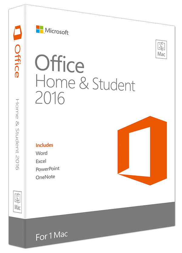 Office 2016 Home & Student - Mac