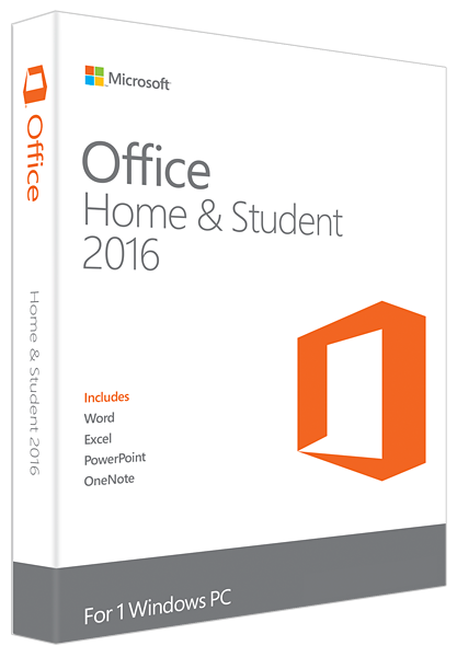 Office 2016 Home & Student - Win