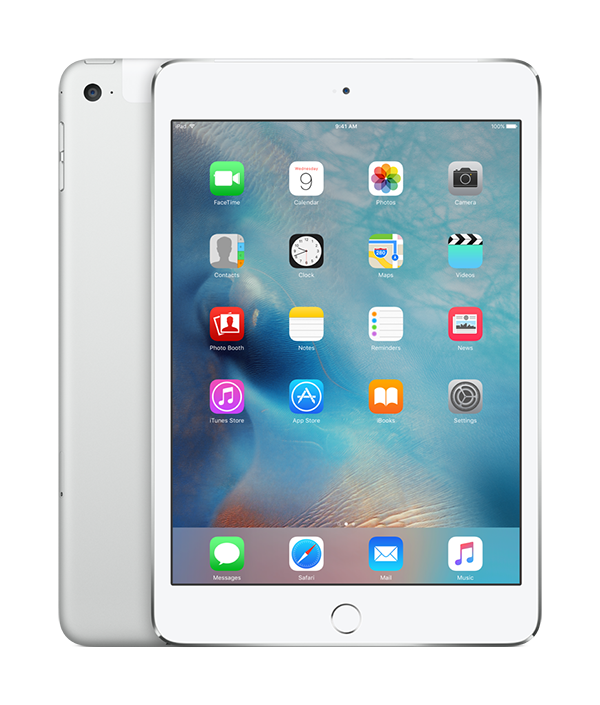 iPad Mini 4 - 128GB Silver