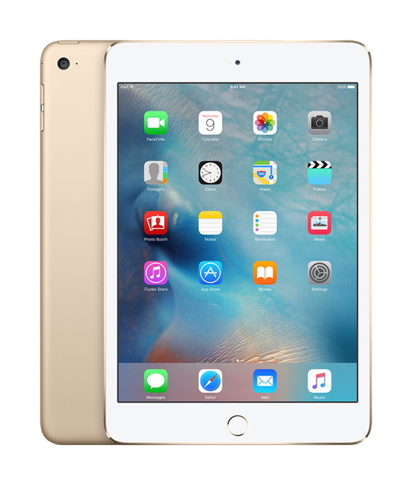 iPad Mini 4 - 128GB Gold