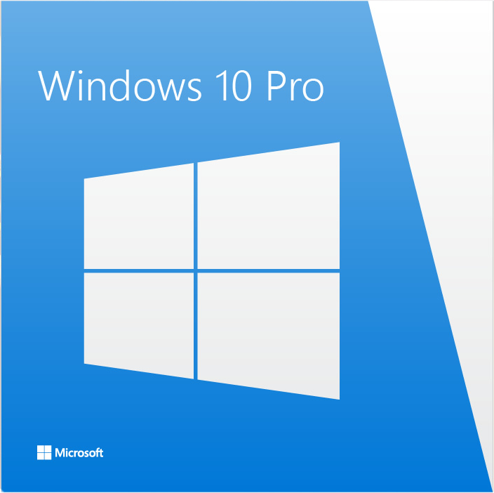 Cover Image For Windows 10 64-bit Professional OEM License