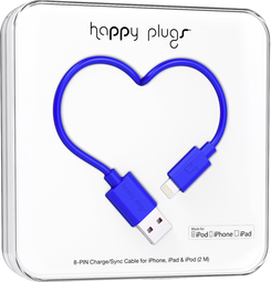 Image For Happy Plugs Lightning to USB 2m - Cobalt