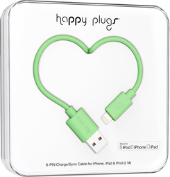 Image For Happy Plugs Lightning to USB 2m - Mint
