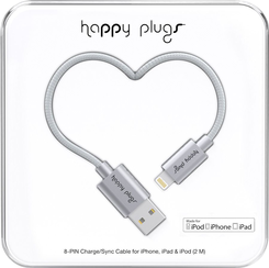 Image For Happy Plugs Lightning to USB 2m - Space Gray