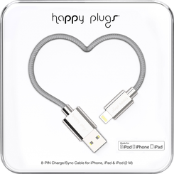 Image For Happy Plugs Lightning to USB 2m - Silver
