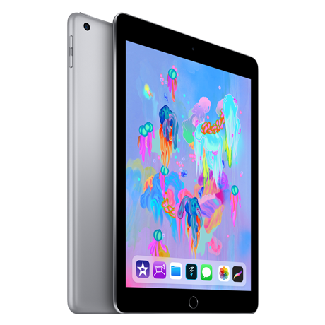 Image For Apple iPad Wi-Fi + Cellular 128GB - Space Gray