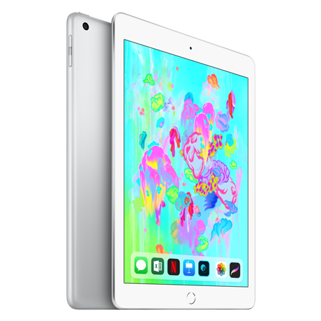 Image For Apple iPad Wi-Fi + Cellular 128GB - Silver
