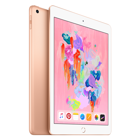 Image For Apple iPad Wi-Fi + Cellular 128GB - Gold